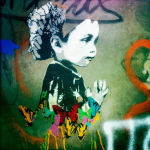 Graffiti Mädchen
