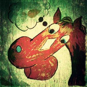 Charlottas Pferd – Streetart