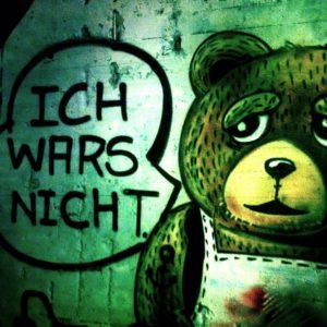 Ich wars nicht – Streetart auf St. Pauli