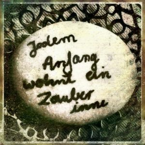 Jedem Anfang…