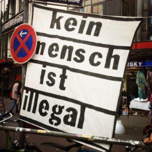 Hamburg Schanzenfest kein Mensch ist illegal