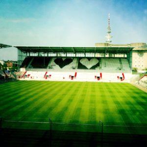 Hamburg St. Pauli Stadion – Herzen