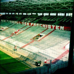St. Pauli Stadion – kein Fussball den Faschisten