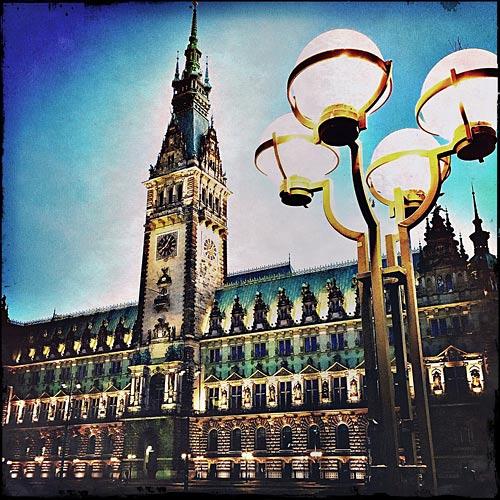 Hamburg-Bilder Rathaus