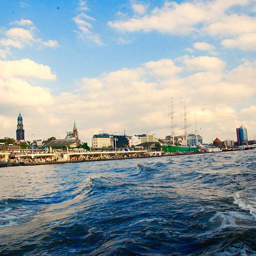 Hamburg-Bilder Elbe